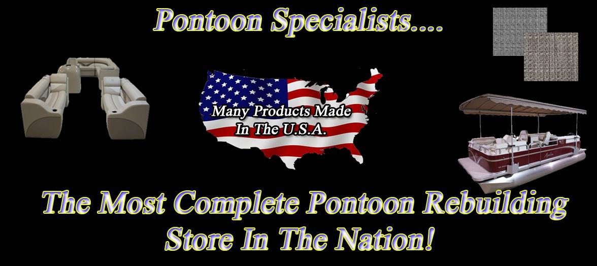 Pontoonspecialists - Boat Pontoon Furniture Carpet Bimini Marine