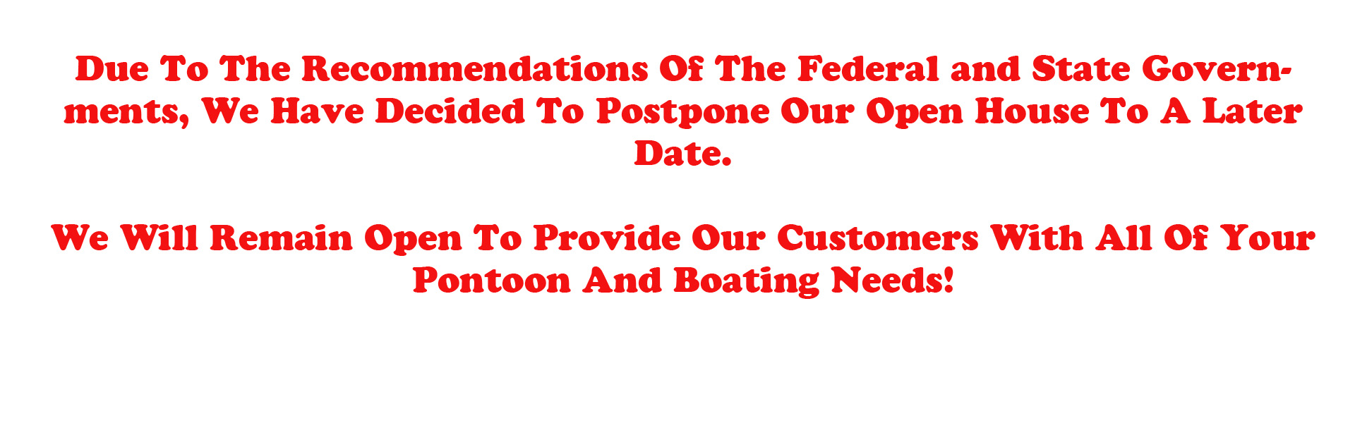Pontoon Federal